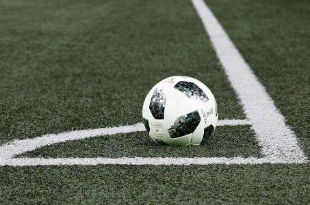 Fußball, Rasen, Ecke