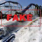 Wasserrutsche, Fake