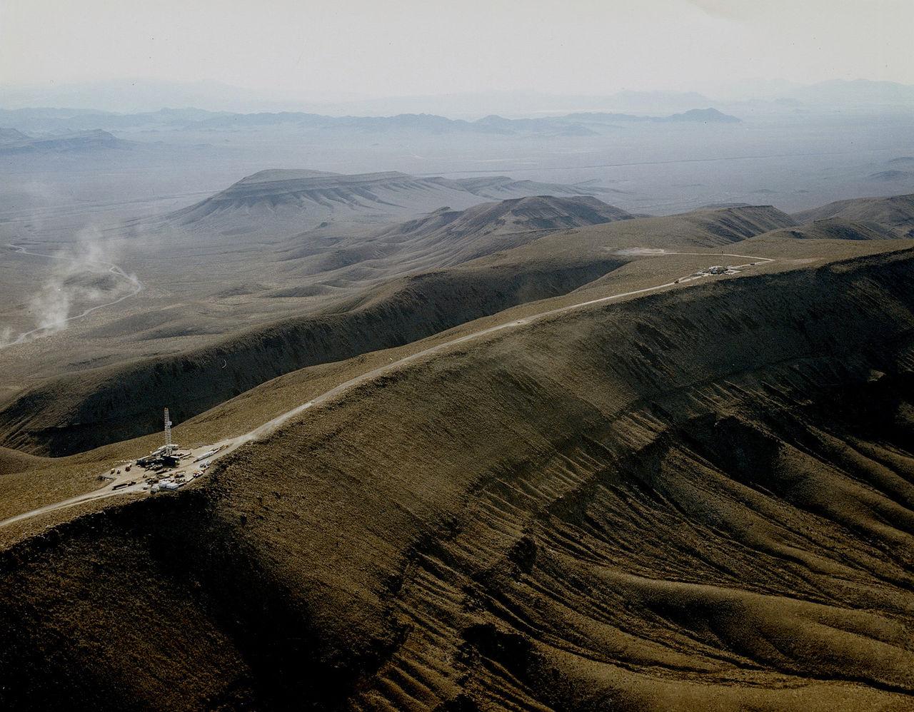 Yucca Mountain Nevada