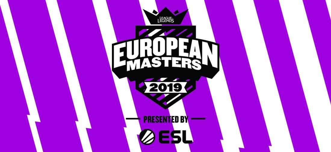 Logo League of Legends European Masters 2019