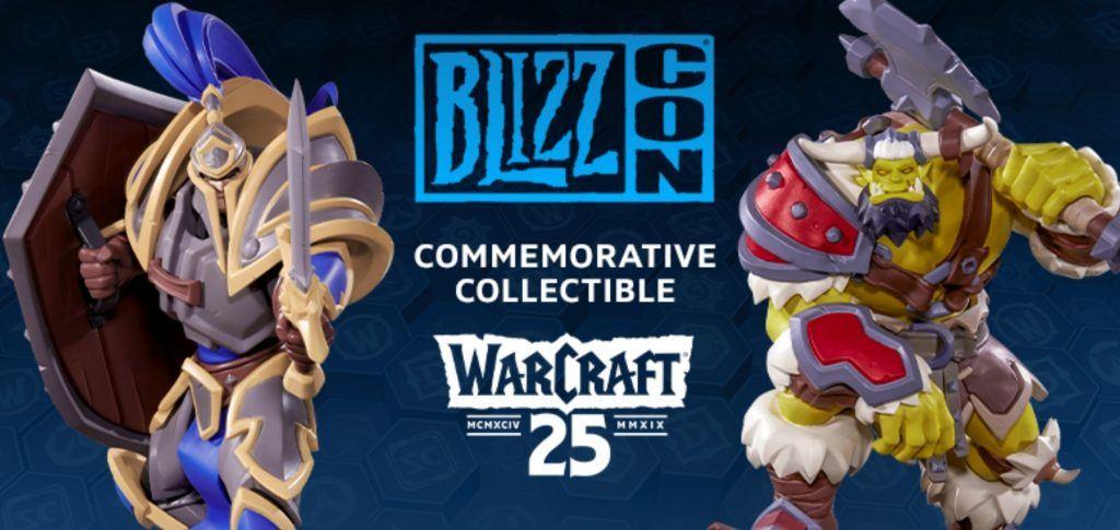 BlizzCon 2019 Jubiläumsstatuen