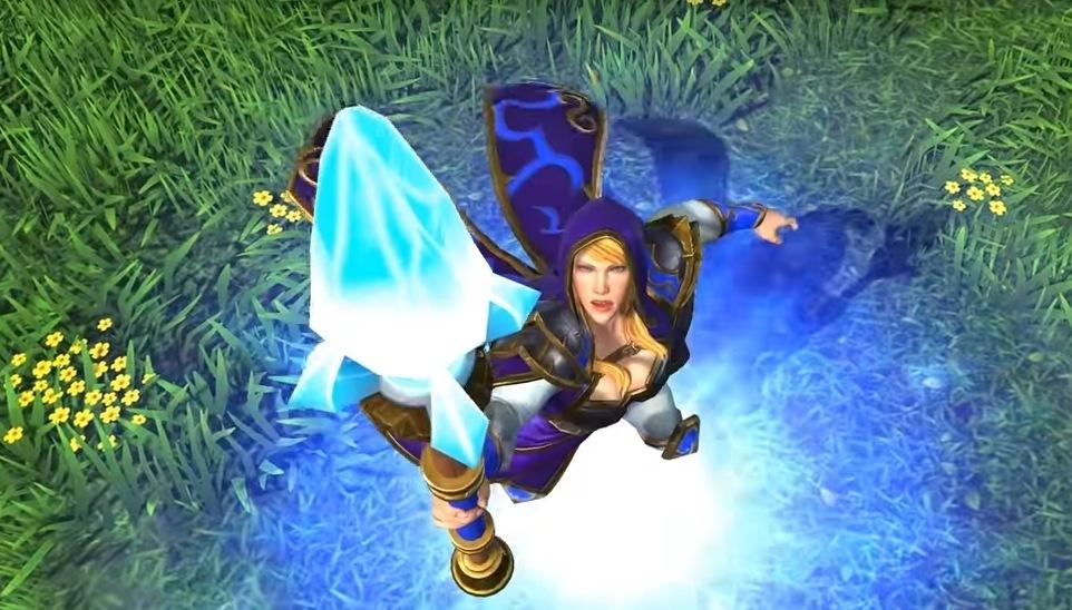 Warcraft Game Szene
