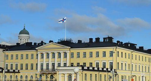 Präsidentenpalst Helsinki