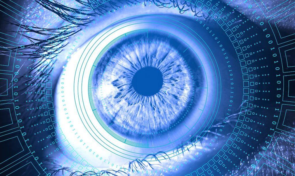 Auge, binäre Zahlen
