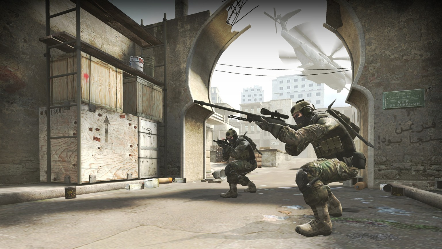 Szene Counter-Strike: Global Offensive