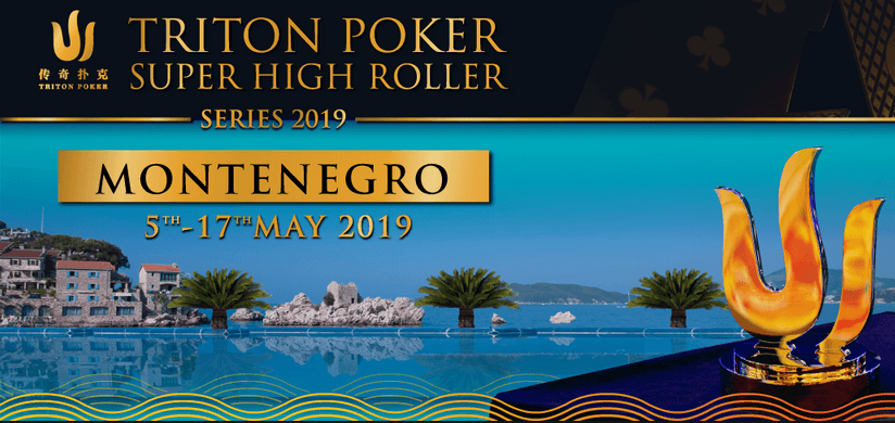 Triton Poker Super High Roller-Serie 2019 Logo