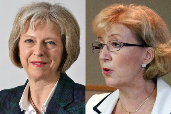 Theresa May und Andrea Leadsom