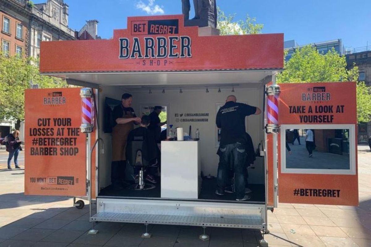 mobiler Barber Shop