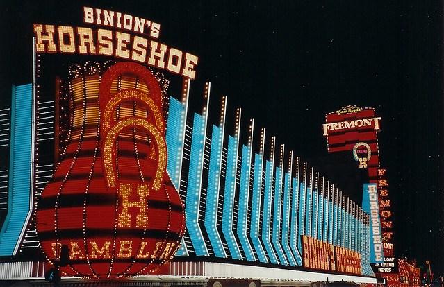 Horseshoe Casino in Downtown Las Vegas