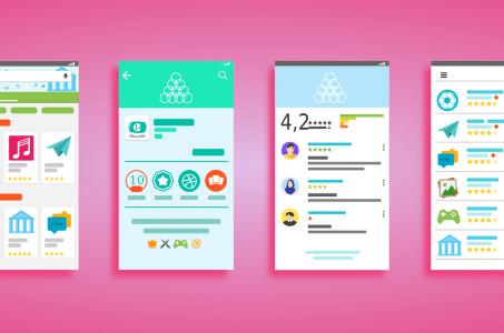 Google Play Store, Apps, Grafik