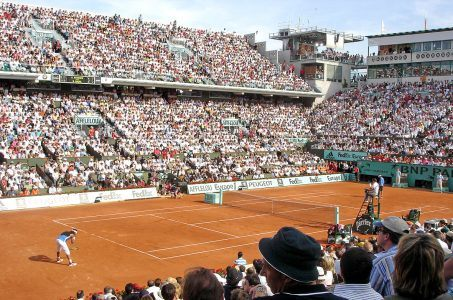 Tennisplatz Roland Garros