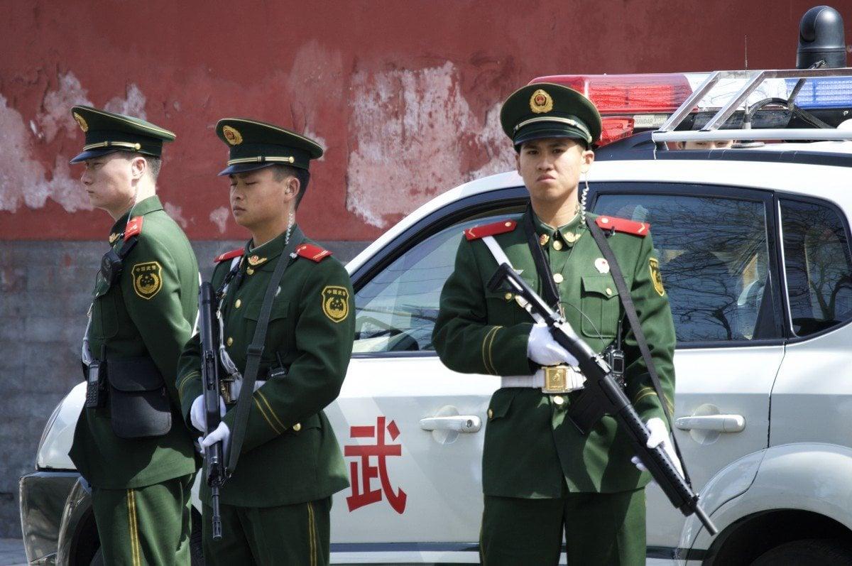 Polizei China