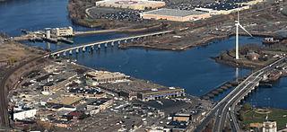 Everett Hafen Gelände Encore Boston Harbor