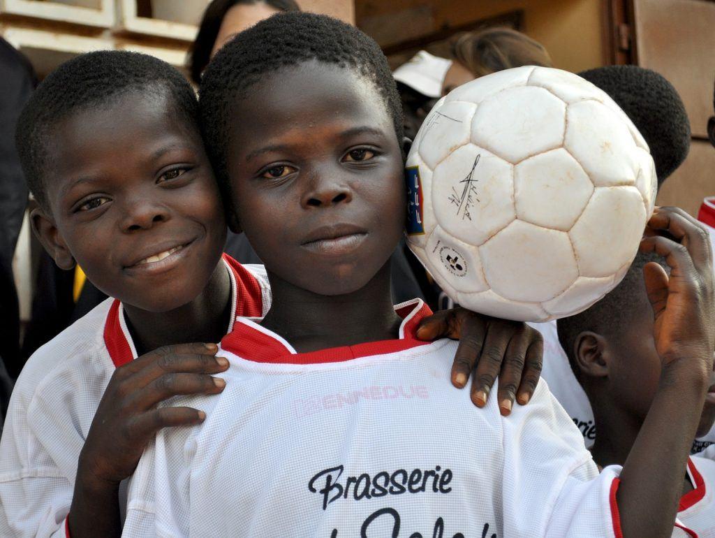 Jungen, Fußball