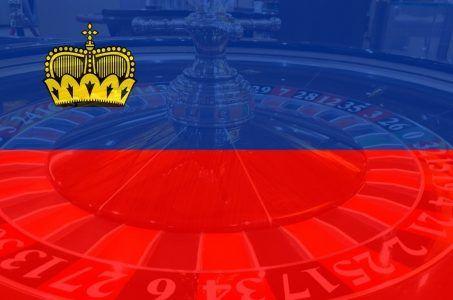Flagge Liechtenstein, Roulette Rad