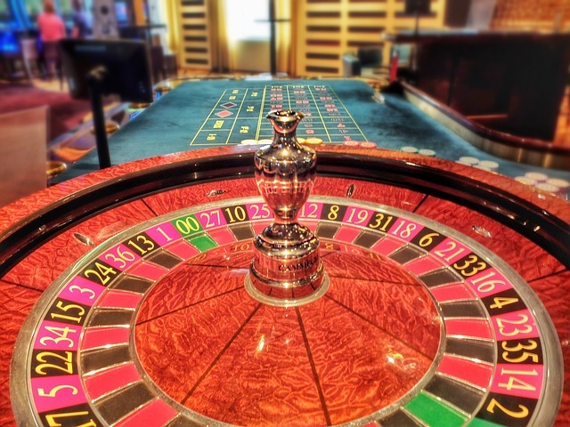 Roulette-Rad, Casino