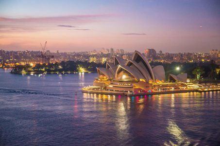 Skyline Sydney Nacht