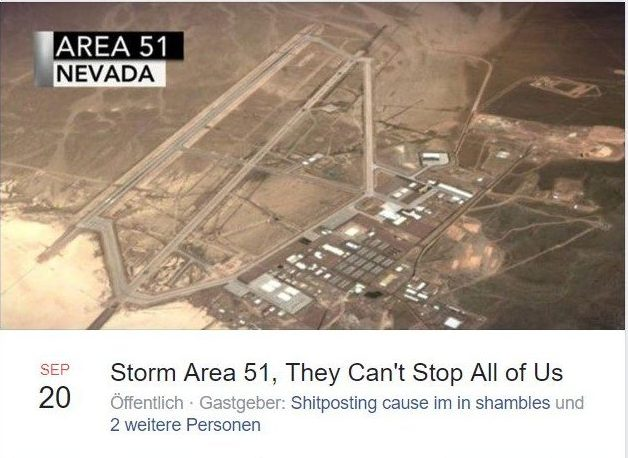 Facebook Event Storm Area 51