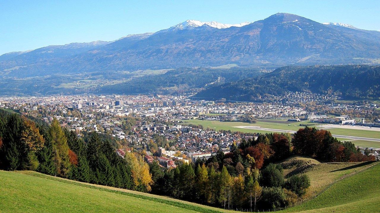 Blick auf Innsbruck