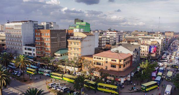 Nairobi Kenia Panorama