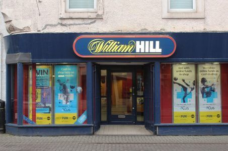 William Hill Wettbüro Front