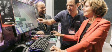 Ministerpräsidentin von Rheinland-Pfalz Malu Dreyer, Computer