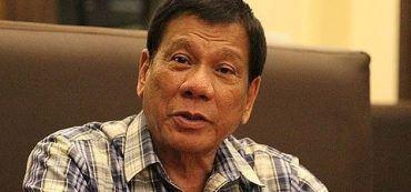 Präsident Philippinen Rodrigo Duterte