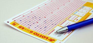 Lottoschein, Kugelschreiber
