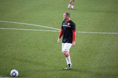 englischer Fußballer Wayne Rooney