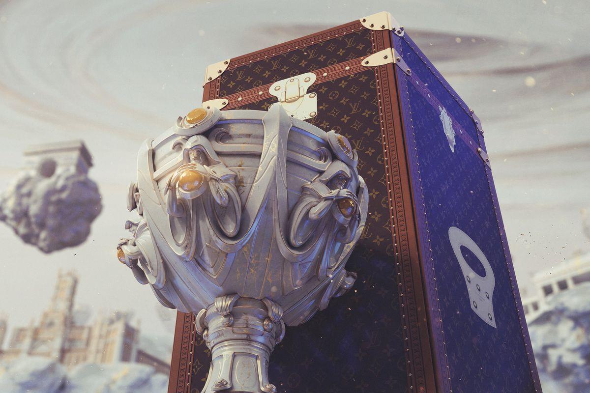 Louis Vuitton Koffer League of Legends