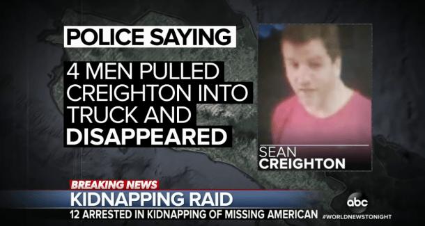 William Sean Creighton, TV News