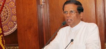 Maithripala Sirisena, Präsident von Sri Lanka