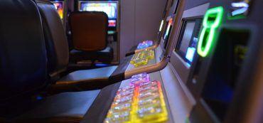 Spielautomaten seitlich