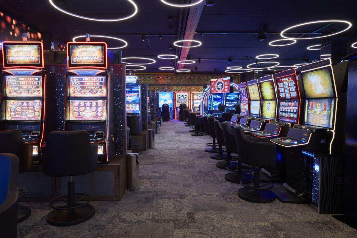 Casino, Spielautomaten, Spielbank Ruggell