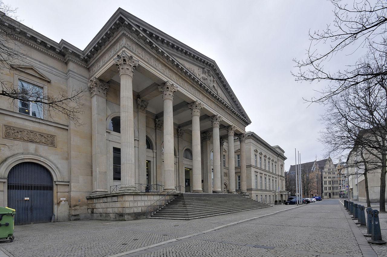 Landtag Niedersachsen von auße