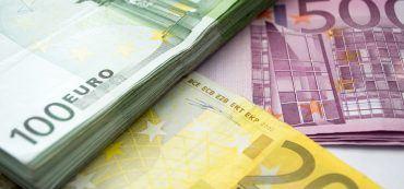 Geldscheine, Banknoten, Euro