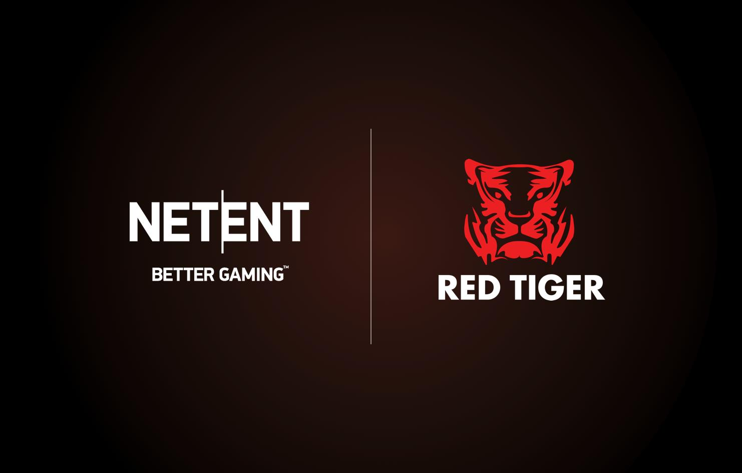 Red Tiger Logo, NetEnt Logo
