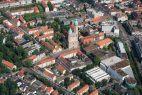 Luftaufnahme der Stadt Braunschweig