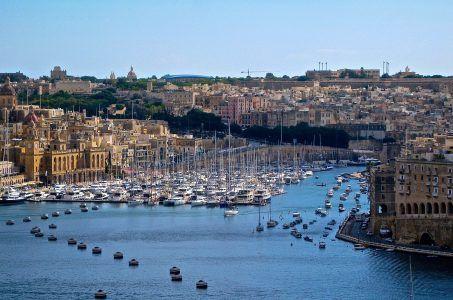 Valetta, Meer, Boote