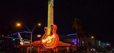 Hard Rock Café Las Vegas, Gitarre