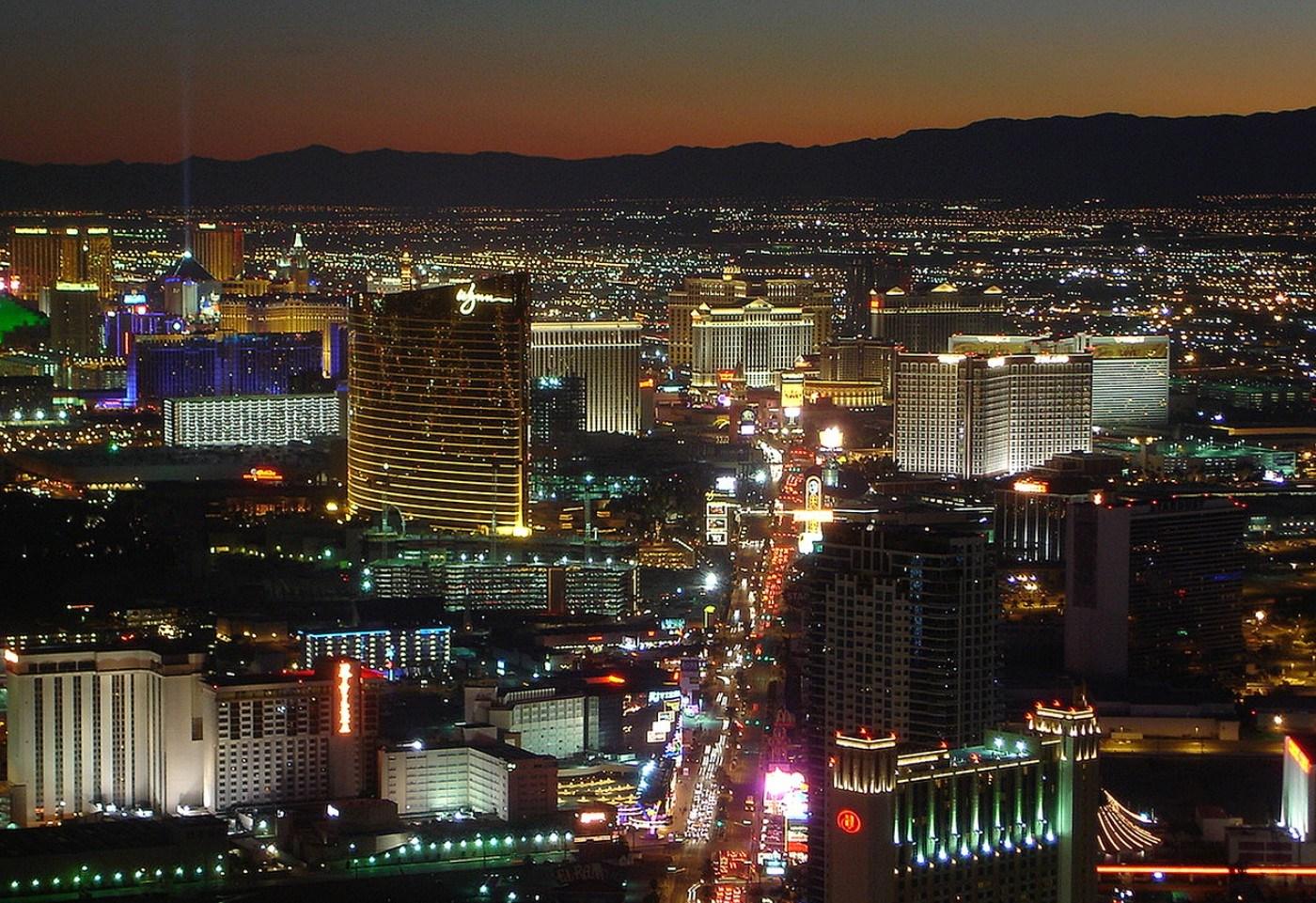 Las Vegas Strip bei Nacht