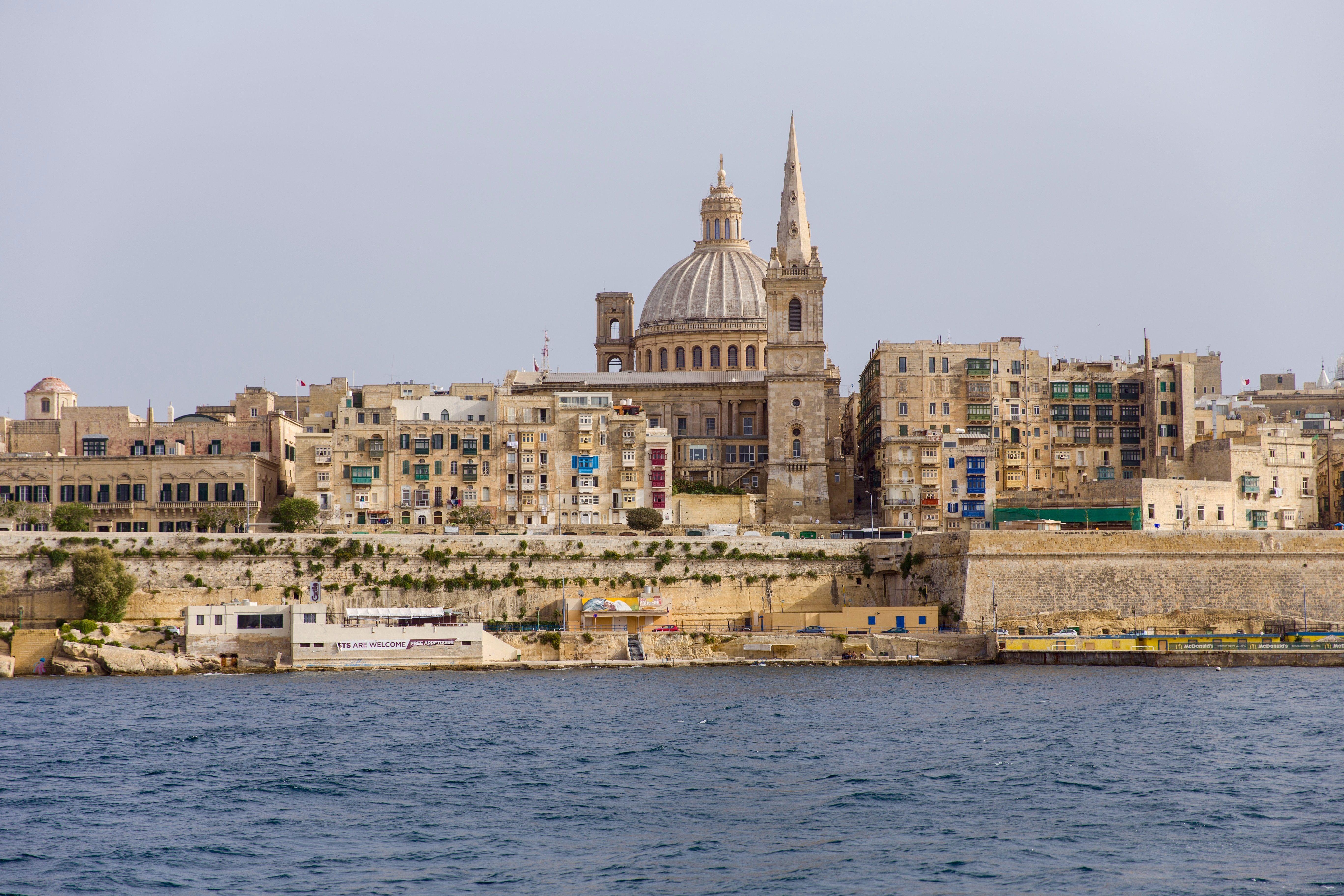 Valletta, Ozean, Kathedrale