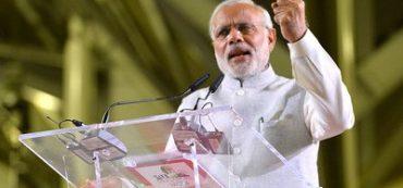 Premierminister von Indien Narendra Modi