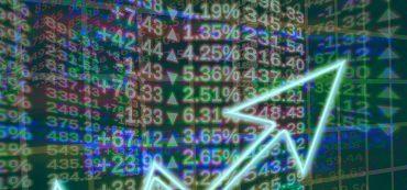 Pfeil, Börse, Zahlen