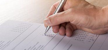 Studie, Umfrage, Papier, Hand, Stift, Schreiben