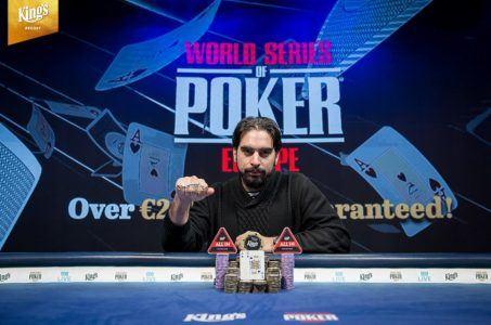 Alexandros Kolonias, WSOPE 2019, Poker
