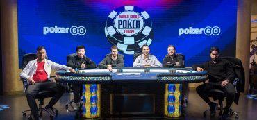Spieler Final Table WSOPE 2019, Poker, Pokerchip