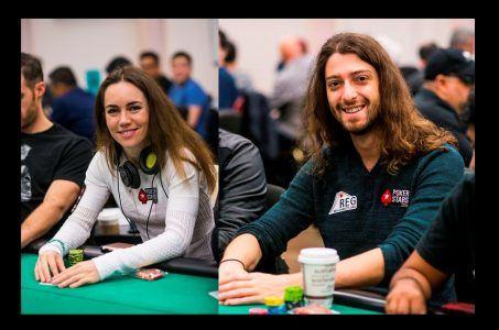 Liv Boeree und Igor Kurganov, Poker