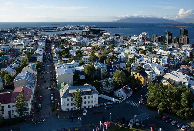 Reykjavík, Hauptstadt von Island