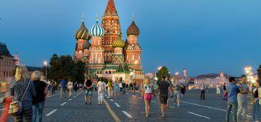 Moskau, roter Platz, Kreml